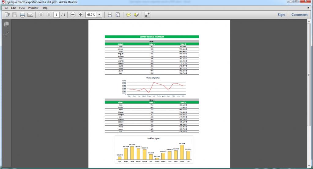 exportar de Excel a PDF
