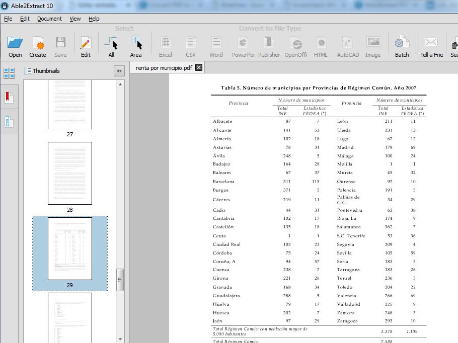 convertidor pdf a excel